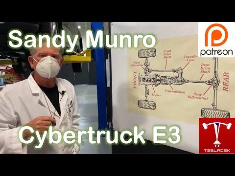 #191 Sandy Munro Cybertruck E3