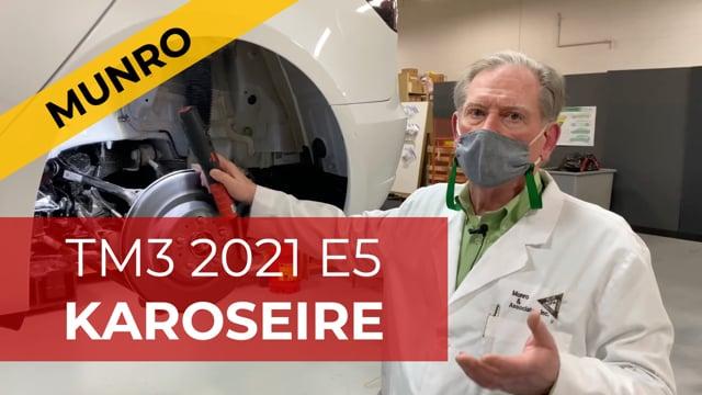 Sandy Munro Tesla Model 3 2021 E5: Karoserie